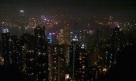 At the Hong Kong peak
