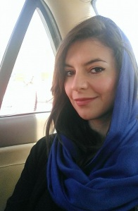 Me in Scarf in Iran